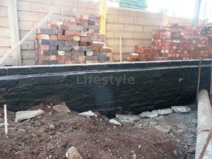 Black waterproofing