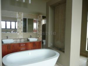 Modern freestanding bath